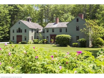 Kennebunk Single Family Home For Sale: 3 Fox Run
