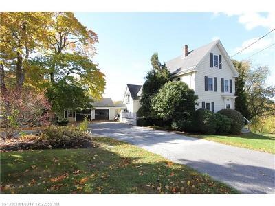 Bangor Single Family Home For Sale: 330 Kenduskeag Ave