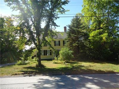 Single Family Home For Sale: 101 Kennebunk Rd