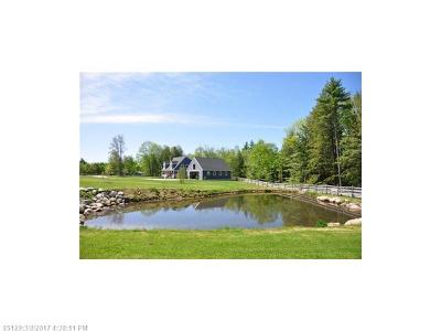 Scarborough, Cape Elizabeth, Falmouth, Yarmouth, Saco, Old Orchard Beach, Kennebunkport, Wells, Arrowsic, Kittery Single Family Home For Sale: 75 Babbidge Rd