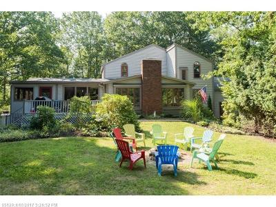 Ogunquit Single Family Home For Sale: 99 Captain Thomas Rd