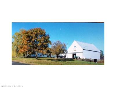 Milo Single Family Home For Sale: 373 River Rd