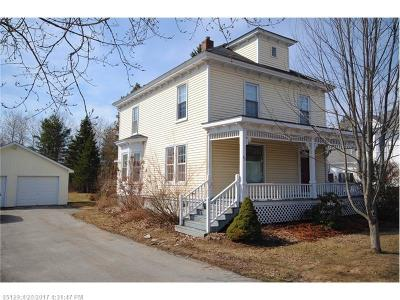 Hampden Single Family Home For Sale: 43 Western Ave