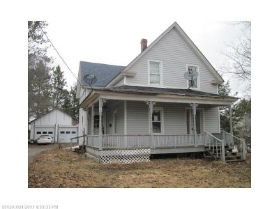 Houlton ME Single Family Home For Sale: $25,000