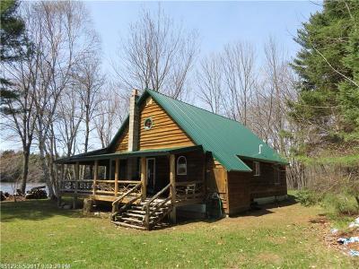 Mattawamkeag Single Family Home For Sale: 396 Medway Rd