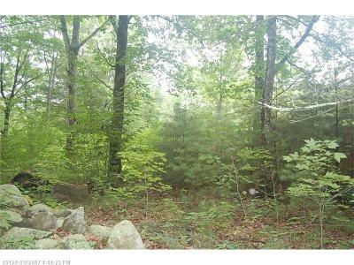 York County, Cumberland County Residential Lots & Land For Sale: 276 Spring Rd