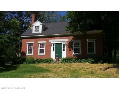 Hampden Single Family Home For Sale: 344 Main Rd S