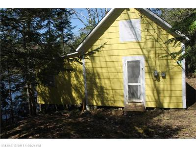 Mount Chase Single Family Home For Sale: 4 Gardner Point Road
