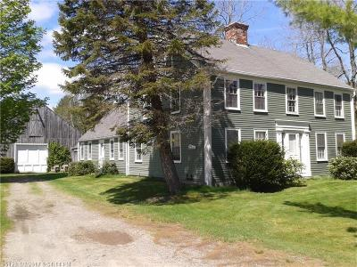 Kennebunkport Single Family Home For Sale: 108 Guinea Rd