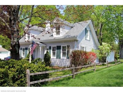 Kennebunk Single Family Home For Sale: 95 Alfred Rd