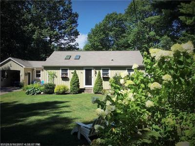 Ogunquit Single Family Home For Sale: 20 Adams Ln