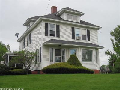 Presque Isle ME Single Family Home For Sale: $215,000