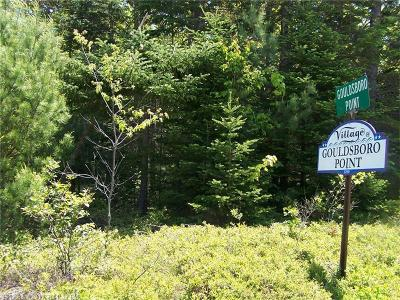 Gouldsboro Residential Lots & Land For Sale: 000 Gouldsboro Point Road & Rt. 1