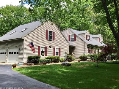 Kennebunk Single Family Home For Sale: 338 Cole Rd