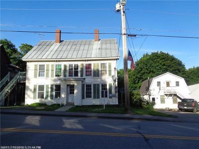Multi Family Home For Sale: 123-125 Main Street