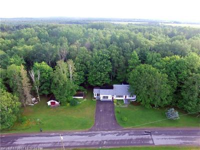 Presque Isle Single Family Home For Sale: 196 Spragueville Rd
