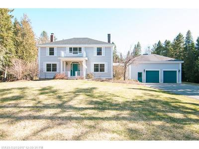 Bangor Single Family Home For Sale: 593 Church Rd