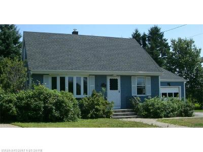 Winter Harbor Single Family Home For Sale: 20 Navy Dr