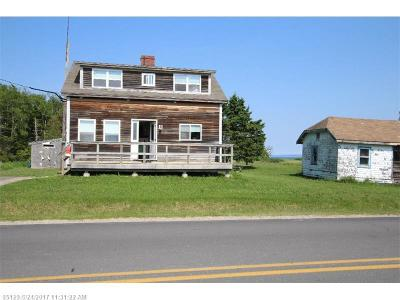 Single Family Home For Sale: 238-240 South Lubec Rd
