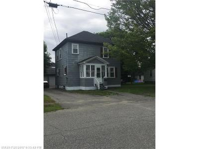 Millinocket Single Family Home For Sale: 363 Congress