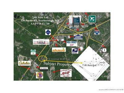 York County, Cumberland County Residential Lots & Land For Sale: 330 Payne Rd