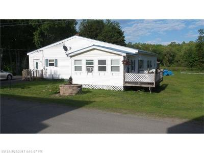 Millinocket Single Family Home For Sale: 31 State