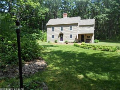 South Berwick Single Family Home For Sale: 91 York Woods Rd