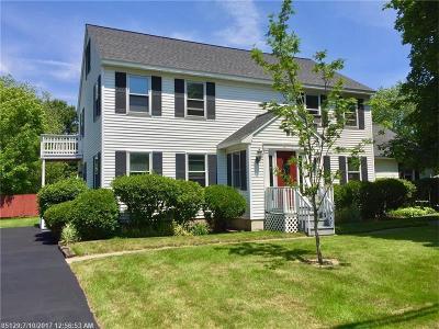 Hampden Single Family Home For Sale: 3 Dewey St