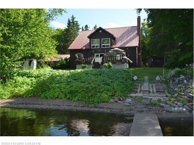 Portage Lake Single Family Home For Sale: 480 West Rd