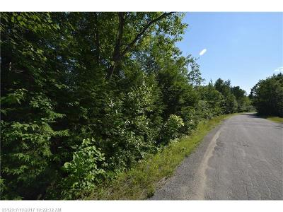 Howland ME Residential Lots & Land For Sale: $19,900