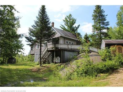 Upper Enchanted Twp ME Single Family Home For Sale: $129,000