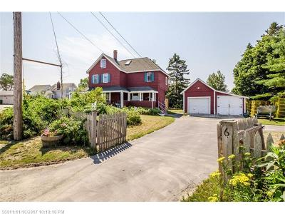 Scarborough, Cape Elizabeth, Falmouth, Yarmouth, Saco, Old Orchard Beach, Kennebunkport, Wells, Arrowsic, Kittery Single Family Home For Sale: 6 Avenue Six