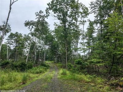 Bucksport ME Residential Lots & Land For Sale: $30,000