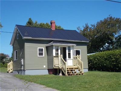 Fort Fairfield Single Family Home For Sale: 24 Center St