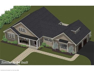 Wells Single Family Home For Sale: Lot #3 Farm View Way