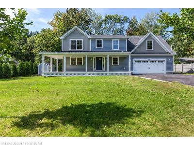 Scarborough, Cape Elizabeth, Falmouth, Yarmouth, Saco, Old Orchard Beach, Kennebunkport, Wells, Arrowsic, Kittery Single Family Home For Sale: 185 West Elm