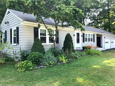 Kennebunk Single Family Home For Sale: 5 Winter St