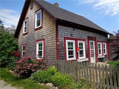 Winter Harbor Single Family Home For Sale: 50 Forest Ave