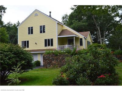 Ogunquit Single Family Home For Sale: 259 Captain Thomas Rd