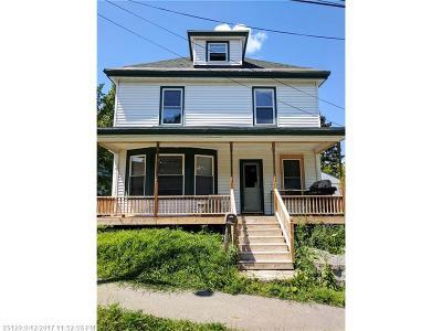 Bangor ME Single Family Home For Sale: $114,900