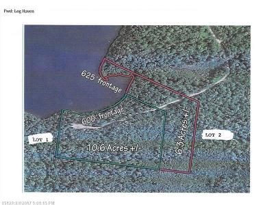 Mount Chase Residential Lots & Land For Sale: Lot 1 Fire Rd. A Log Haven Dr.