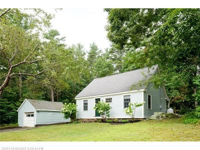 Kittery Single Family Home For Sale: 107 Brave Boat Harbor Rd