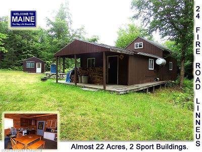 Linneus Single Family Home For Sale: Lot 24 Fire Rd