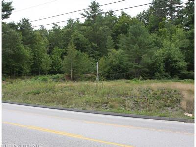 Residential Lots & Land For Sale: 1171 Maine Rte. 26 Rte