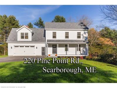 Scarborough Single Family Home For Sale: 220 Pine Point Rd