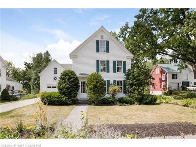Kennebunk Single Family Home For Sale: 54 Storer St