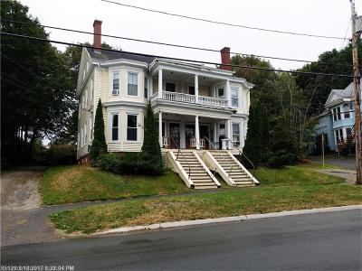 Bangor ME Multi Family Home For Sale: $219,000