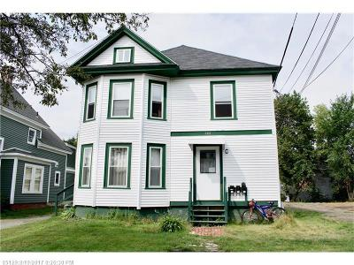 Bangor ME Multi Family Home For Sale: $165,000