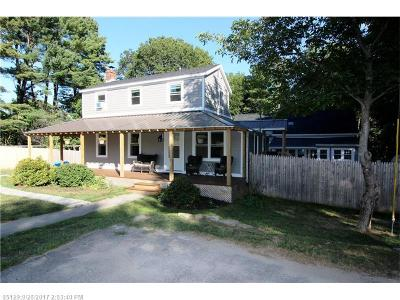Scarborough, Cape Elizabeth, Falmouth, Yarmouth, Saco, Old Orchard Beach, Kennebunkport, Wells, Arrowsic, Kittery Single Family Home For Sale: 265 Foreside Rd