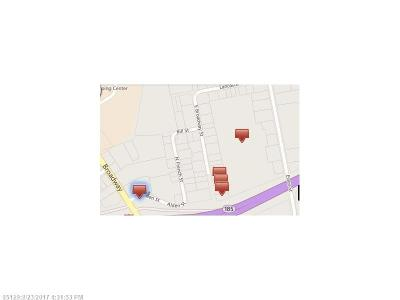 Bangor Residential Lots & Land For Sale: 606 Essex St